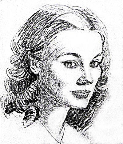 Tutorial de dibujo al carboncillo  Retrato de mujer  Julia Romn